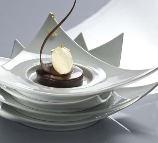 TARTE CROUSTILLANTE AU CHOCOCOLAT GLACE VANILLE