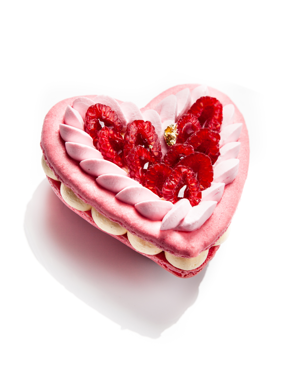 coeur st valentin vanille framboise – sébastien serveau